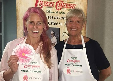 Get In Touch Fundraiser - Mozzarella Making Class In Milford at ShopRite