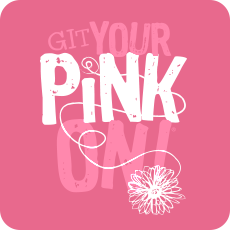 GIT Your Pink On Fundraiser Logo