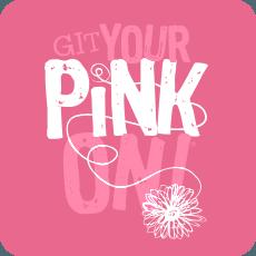 GIT Your Pink On Fundraiser Logo