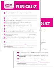 GIT Girls Program Resources | Fun Quiz